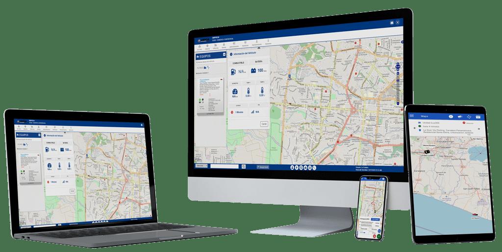 Plataforma web Ubica GPS El Salvador